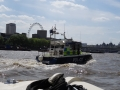 Police Boat on the Thames