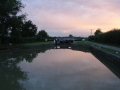 Sunset at Seend Lock