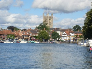 View of the River Thames at Henley