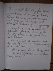 Testimonials from New Zealand and UK