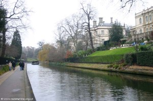 Regaents Canal and the Victorian Houses