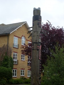 The Totem Pole at Berkhamsted