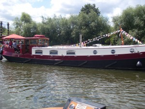 Dutch Barge on the River Thames