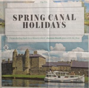 Canal holidays sunday Telegraph
