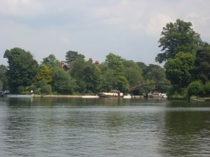 Shepperton Lock View