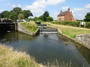 Lock and Weir at Papercourt